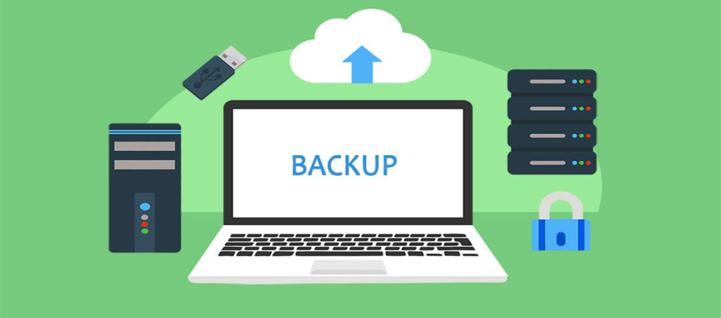 backup services to keep a website safe